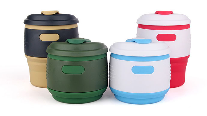 Silicone Collapsible Travel Mug