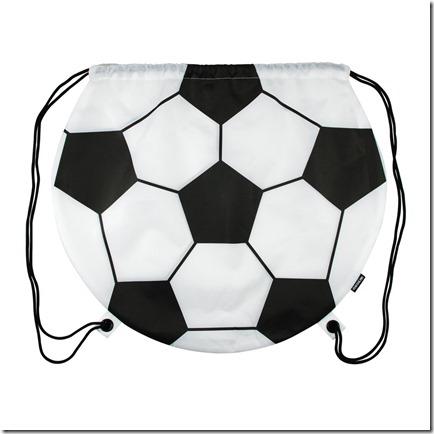 soccer drawstring bag
