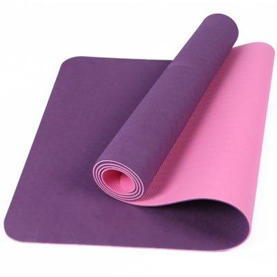 Double Color TPE Yoga Mat