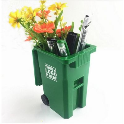 Garbage Can Pen Container