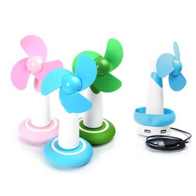 Mini USB HUB Fan