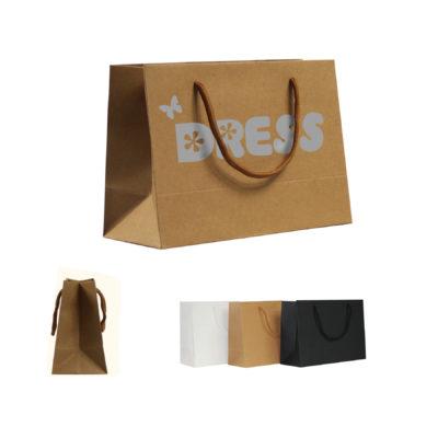 Natural Kraft Paper Tote Bag
