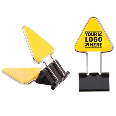 Triangle Shape Paper Binder Clip