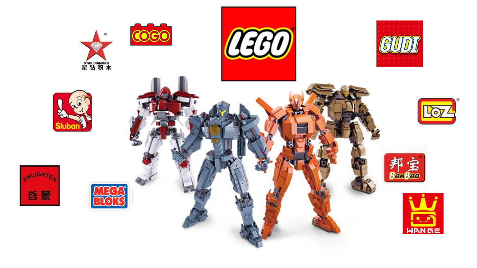10 Top Building Brick Toys Brand- No Only LEGO - TonyPromos